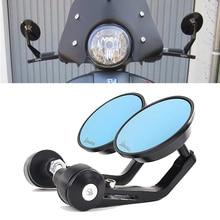 Specchio moto alluminio manubrio estremità specchietti retrovisori accessori per Vespa GT GTS GTV 60 125 200 250 300 300ie