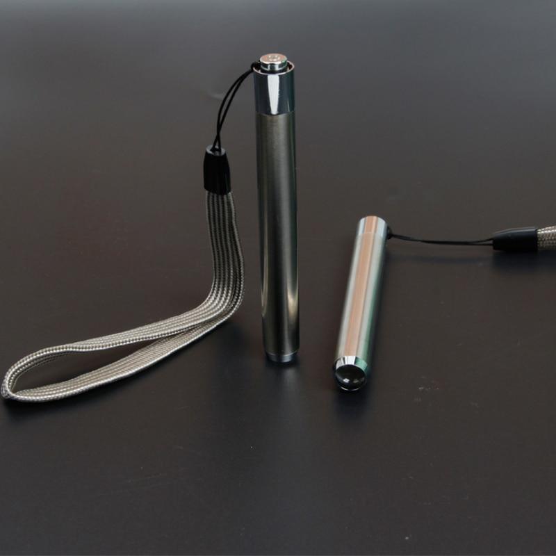 Led UV פנס לפיד Ultra ויולט אור נירוסטה מיני כיס פנס מנורת AA סוללה עבור סמן בודק זיהוי