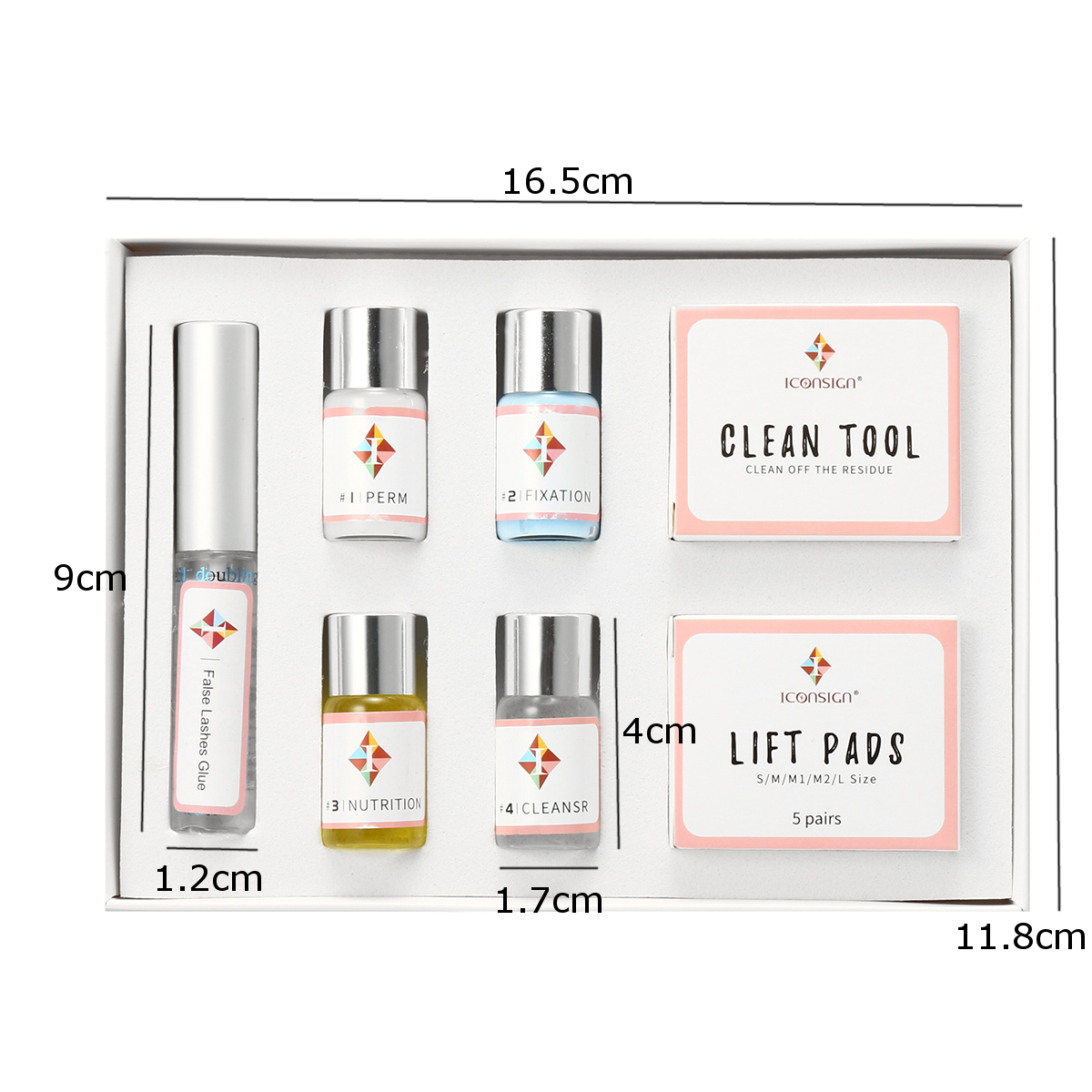 7Pcs/Set Eyelash Wave Lotion Curling Perm Curler Kit Eye Lashes Lift Liquid Makeup Tool Women Eyes Makeup Beauty Accessories New
