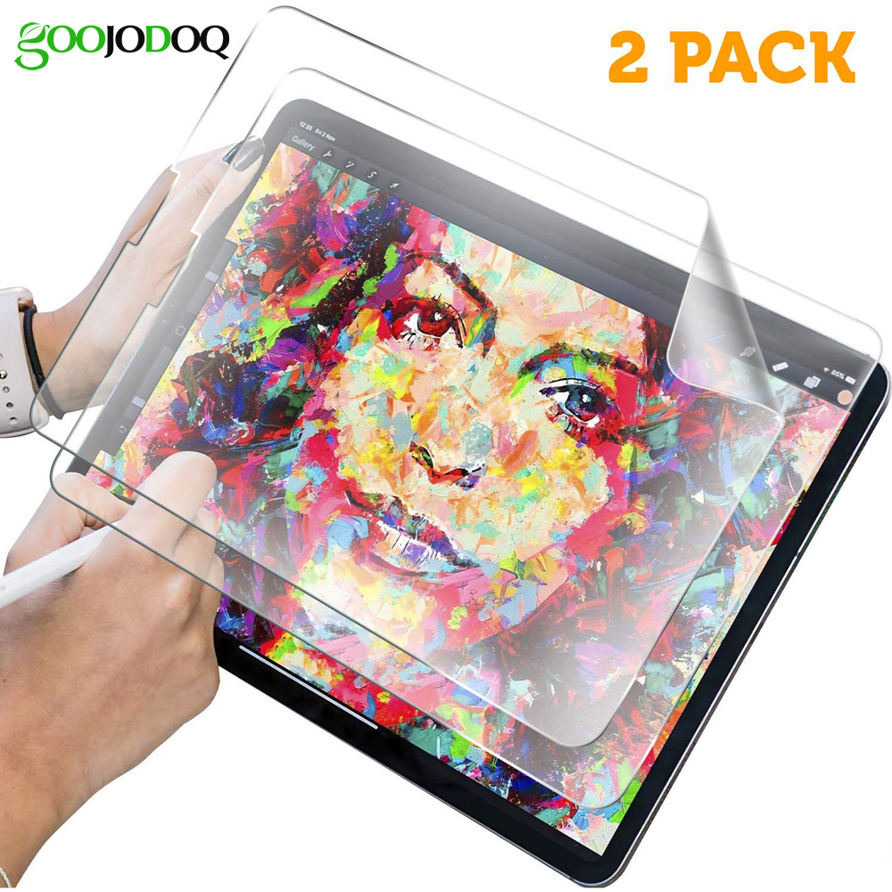 GOOJODOQ Paper Like Screen Protector For IPad Pro 11 2018 Pro 10.5 Air 3 2 1 IPad 10.2 2019 IPad Mini 5 4 3 2 1 Matte PET Film