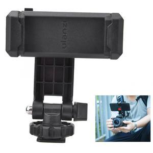 Image 4 - Ulanzi ST 06 حامل هاتف قابل للتعديل ترايبود جبل مع 1/4 برغي الحذاء الساخن الهاتف كليب اطلاق النار ل DSLR كاميرا فيديو Vlog