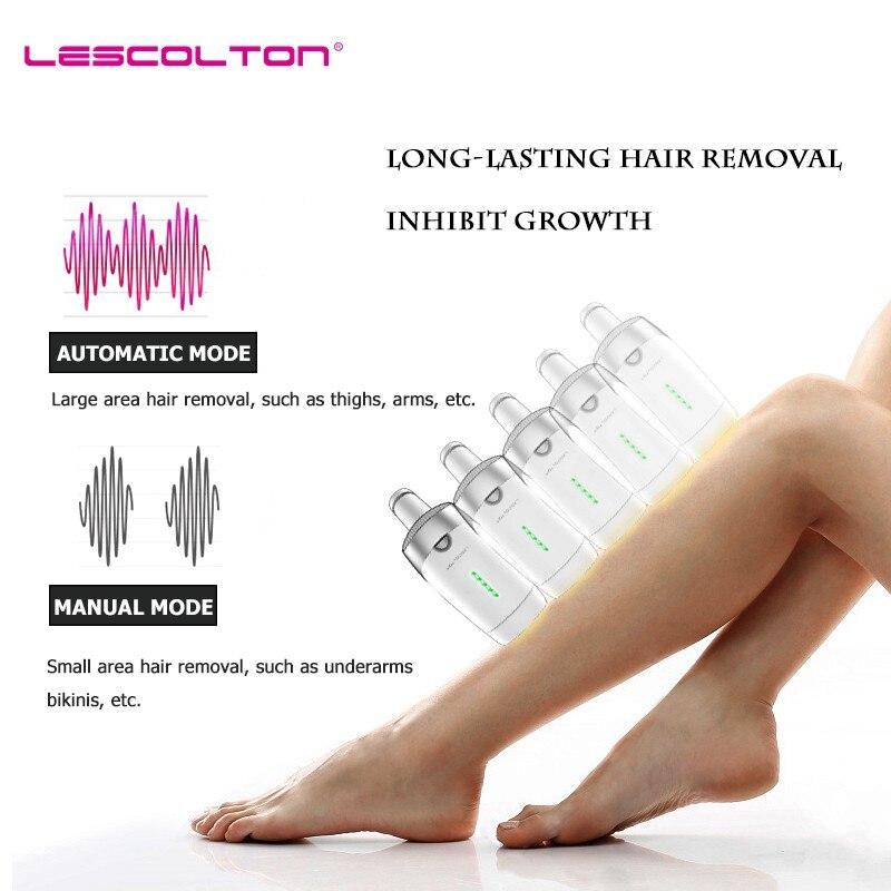 Image 5 - 700000 times Lescolton depiladora Laser Hair Removal Machine Laser Epilator Hair Removal Bikini Trimmer Electric epilator women-in Epilators from Home Appliances