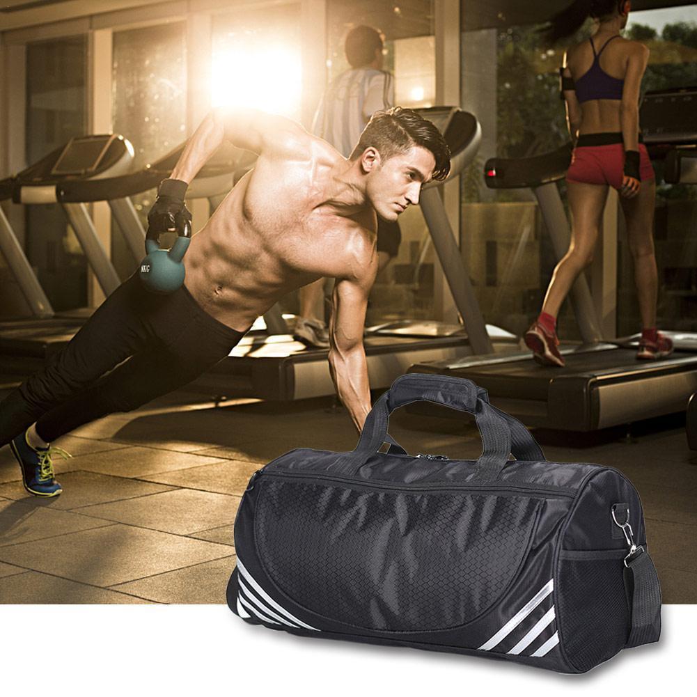 2019 Yoga Pack Sports Bag Large Capacity Fitness Gym Travel Handbag Waterproof One-shoulder Messenger Bag Training Package