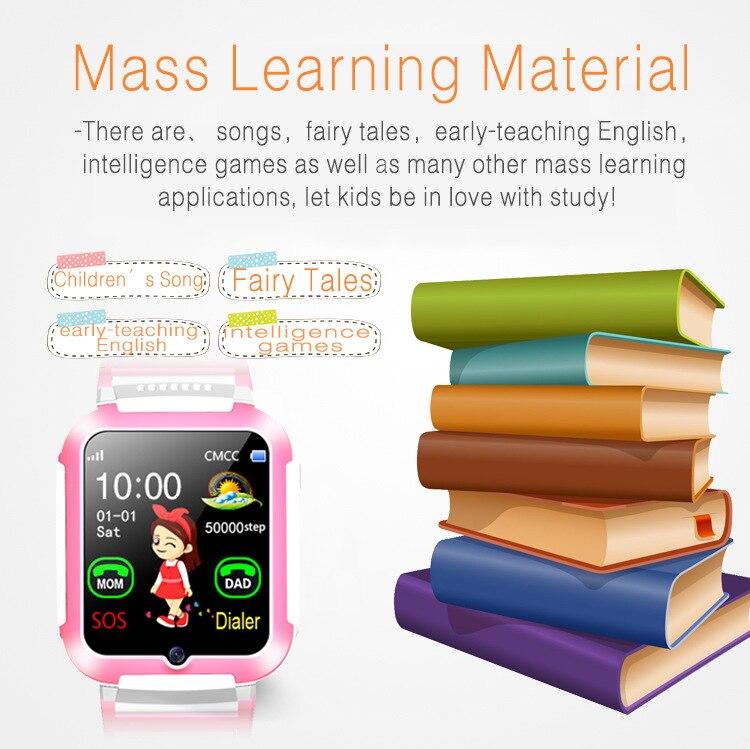 2019 E7 Детские умные часы, 4G, gps, Wi Fi, отслеживание видео звонков, SOS, голосовой чат, детские часы, уход за ребенком, мальчик, девочка, умные часы - 5