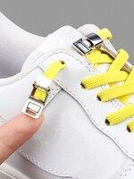 Agujetas magnéticas-zapato que No se ata, zapatillas con cordones, cierre de cordón, talla única, para niños y adultos, nueva actualización