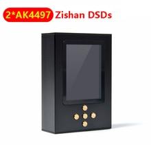 ใหม่ล่าสุดNICEHCK Zishan DSDs Dual CS43198/AK4497 Professionalเครื่องเล่นเพลงMP3 DAP HIFIแบบพกพาฮาร์ดแวร์ถอดรหัส2.5Mm Balanced