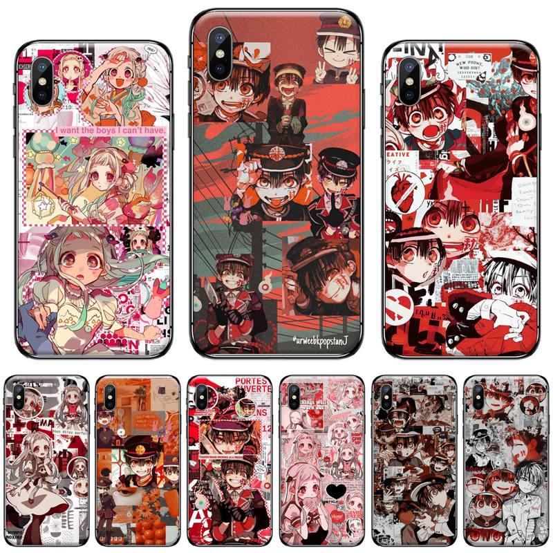 Jibaku Shounen Hanako Kun Toilet Phone Case for iPhone 11 12 pro XS MAX 8 7 6 6S Plus X 5S SE 2020 XR