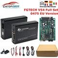 Fgtech Galletto 4 Master V54 полный чип 0475 FGTech Поддержка BDM Полная функция для KESS KTAG fg tech ECU чип тюнинг программатор