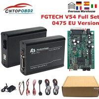 Fgtech-programador de sintonización de Chip completo, accesorio Galletto 4 Master V54 KTAG KESS 0475 FGTech compatible con BDM, función completa para con Chip ECU fg tech