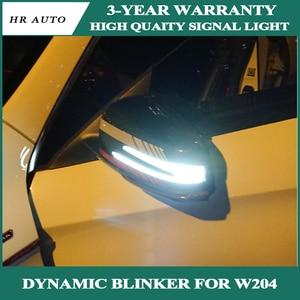 Image 1 - עבור בנץ S CLA GLA CLS Class דינמי איתות LED אור W176 W246 W204 W212 c117 X156 צד אחורי מראה מחוון