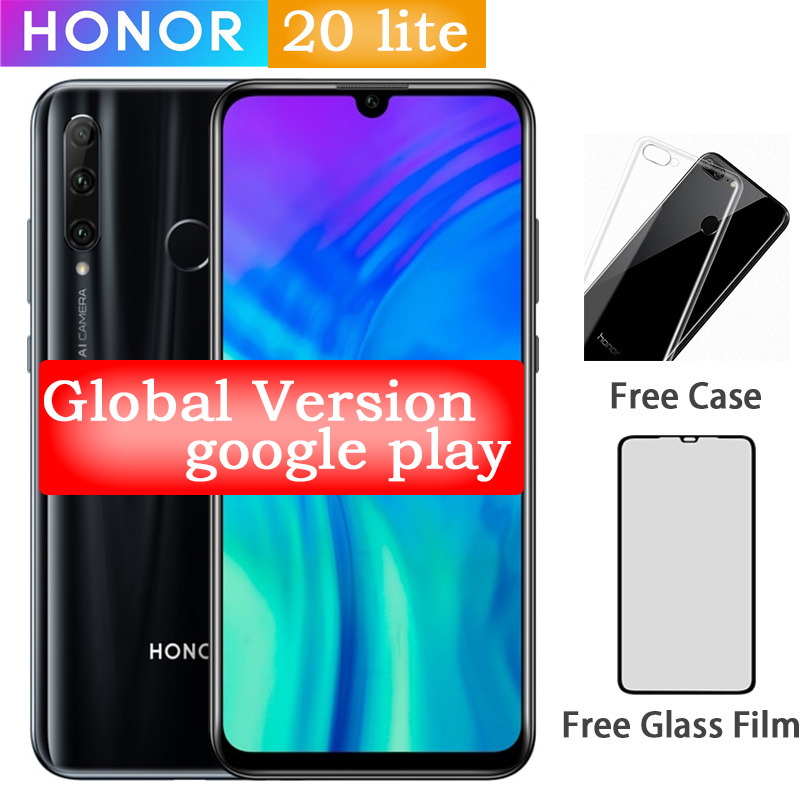 Huawei Honor 20i 20-Lite Smartphone Android 32gb 4gb Fingerprint Recognition 24mp New