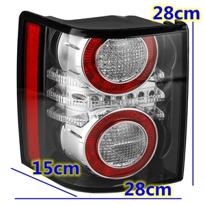 Image 3 - 1 Pair LED Rear Tail Light Brake Light Lamp With Bulb for Land Rover Range Rover 2010 2011 2012 Car Styling Replacement