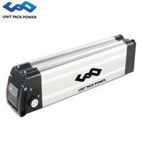 36 volts ebike prata peixe bateria 36 v 24.5ah 20.3ah 18ah 15ah 10ah bicicleta elétrica bateria para 500 w 350 w 250 w bafang tsdz2 motor| |   -