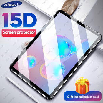 15D Tempered Glass For Samsung Galaxy Tab A 2019 10.1 8.0 A 2020 8.4 Screen Protector For Samsung Tab A 2018 10.5 A6 A 2016 10.1