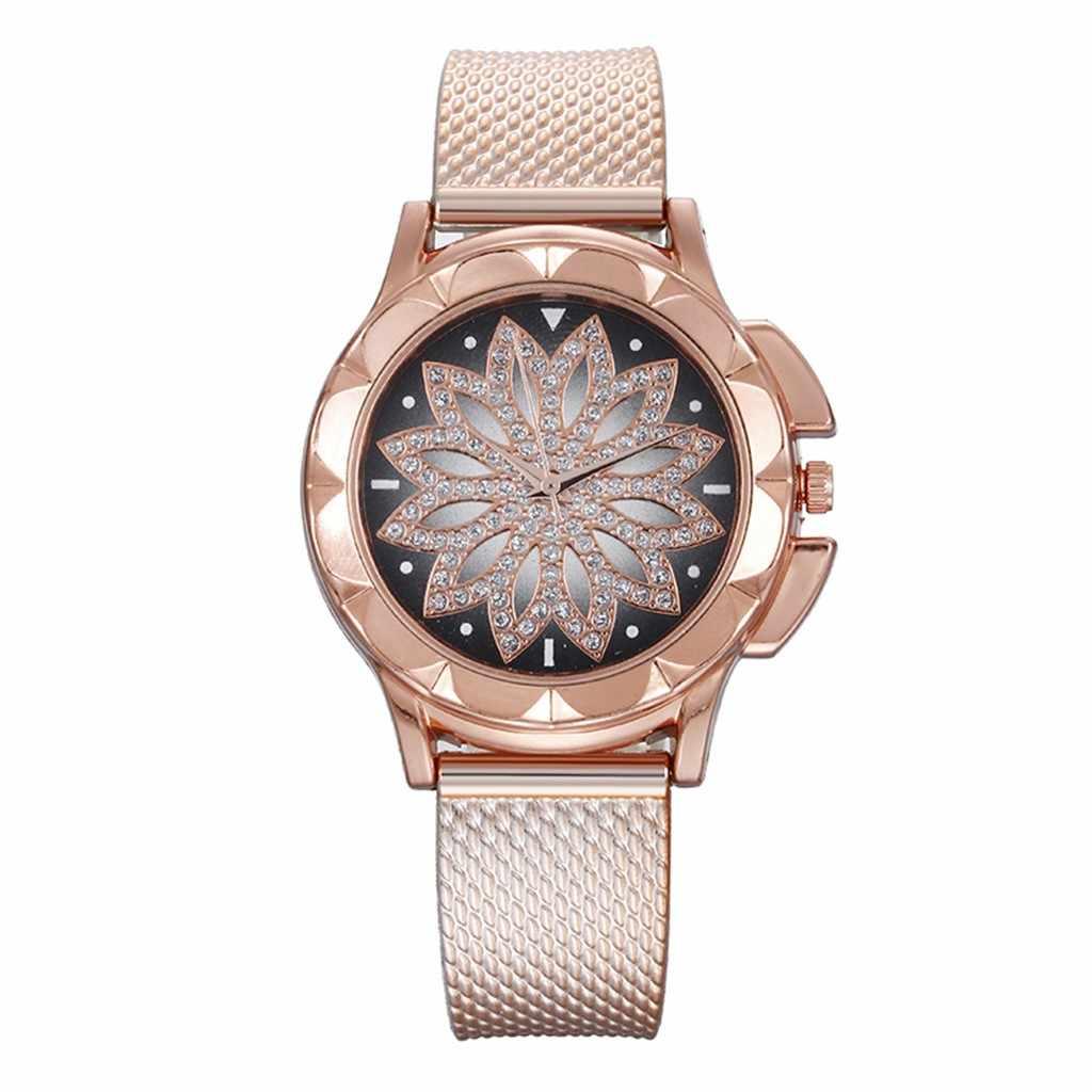 Izle kadınlar son Top moda bayanlar çelik kemer İzle yabani Lady yaratıcı moda hediye altın İzle orologio donna