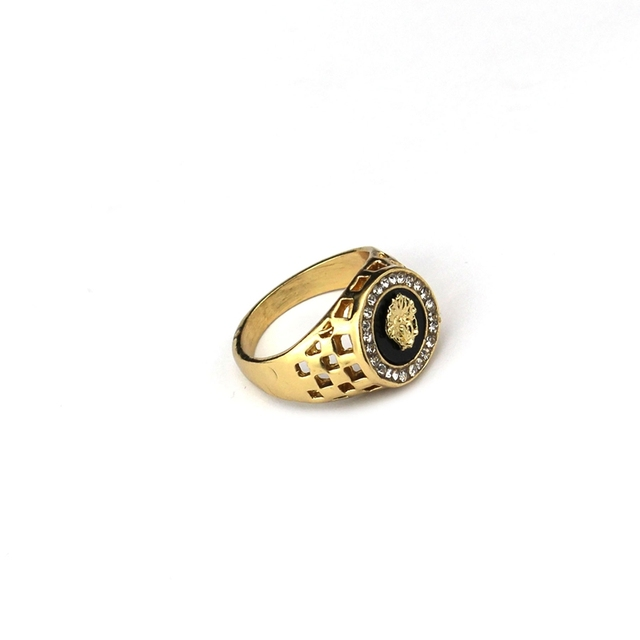 Classic Men's Punk Style Ring 8