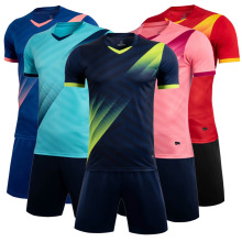 Blank soccer Jersey & shorts Adult children's training suit football team uniforms Sportswear Short sleeve tracksuit Customized long sleeve soccer sets football jerseys and pants and jacket tracksuit training suit kids to adult football custom uniforms
