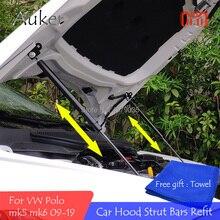 Для 2009- VW Polo MK5 MK6 6R/6C/61/AW ремонт капота газовая пружина амортизатор подъем поддержка ing стойки штанги Поддержка штанги автомобиля-Стайлинг