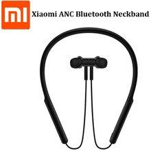 Xiaomi anc neckband bluetooth fone de ouvido fone de ouvido digital híbrido triplo driver ldac confortável usar até 20h música jogando