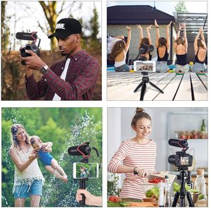 Image 5 - Comica CVM V30 LITE  Video Microphone Super Cardioid Condenser On Camera Shotgun Microphone for Nikon Canon Sony iPhone Huawei