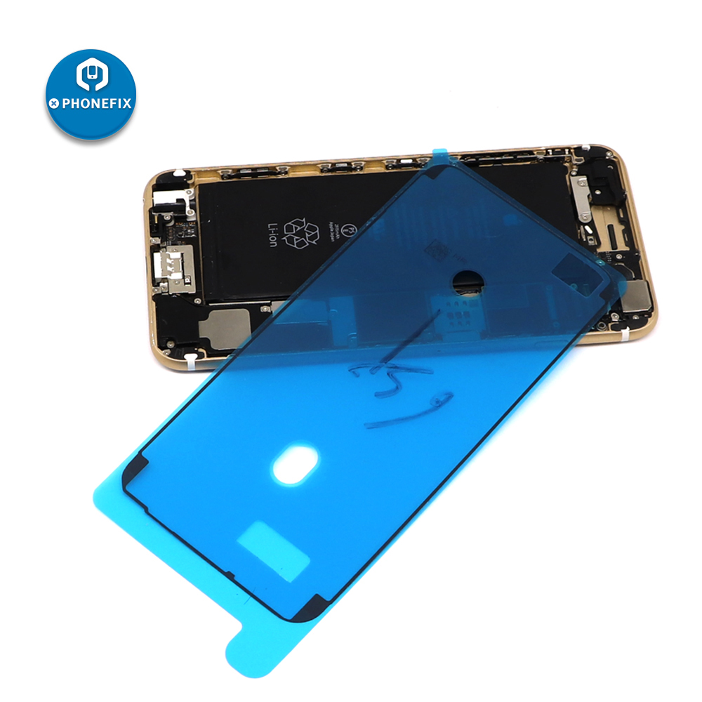 PHONEFIX Waterproof Sticker For IPhone 6S 6SP 7 7P 8 8P X XS XR LCD Screen Frame Tape Repair Parts Adhesive Pre-Cut Stickers