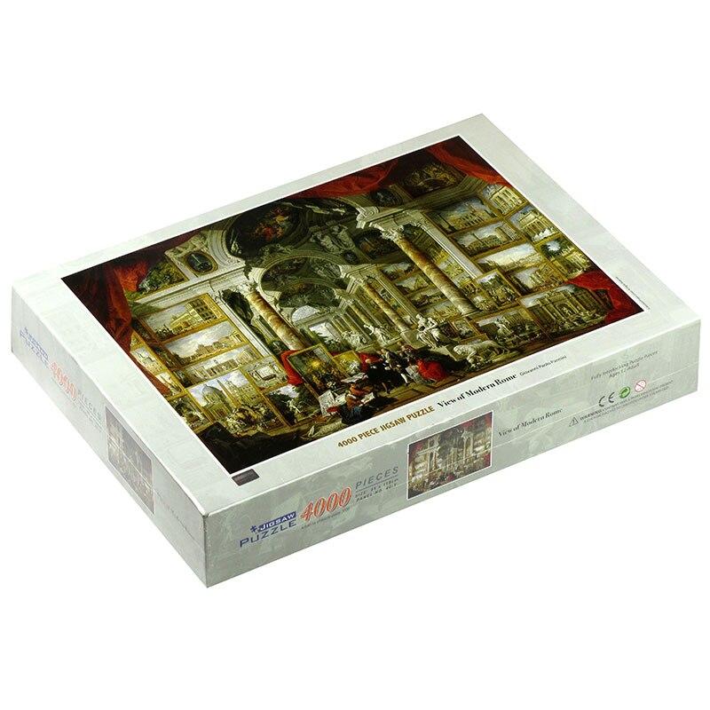 4000 pièces adulte puzzle panini moderne roman puzzle décompression jouet populaire salon décoration peinture - 3
