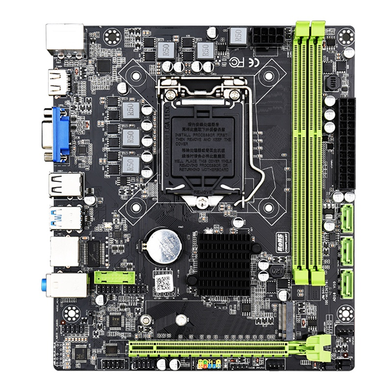 H310C Motherboard LGA1151 M-ATX USB3.0 SATA3.0 M.2 NVME SSD 16GB DDR3 RAM Memory