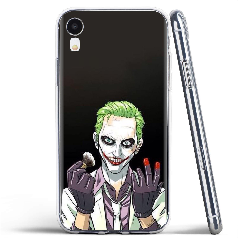 Suicide Squad Joker Harley Quinn Soft Bag Case For Motorola Moto G G2 G3 X4 E4 E5 G5 G5S G6 Z Z2 Z3 C Play Plus