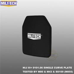 MILITECH alumine & PE NIJ III + plaque pare-balles NIJ niveau 3 + panneau balistique autonome NIJ niveau 3 AK47 & SS109 & M80