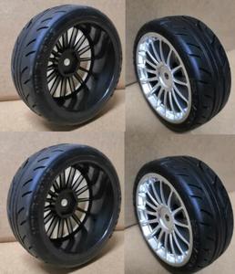 1/10 Kyosho RC fs tamiya redcat Car Hard Tires OnRoad Wheel Rim hex 12mm HSP HPI KYOSHO FS RC Car Part Diameter 65mm Drift Race(China)