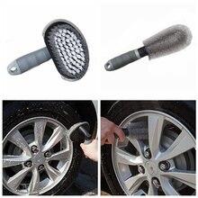 Щетка для чистки автомобильных колес 2 шт/лот щетка мойки обода