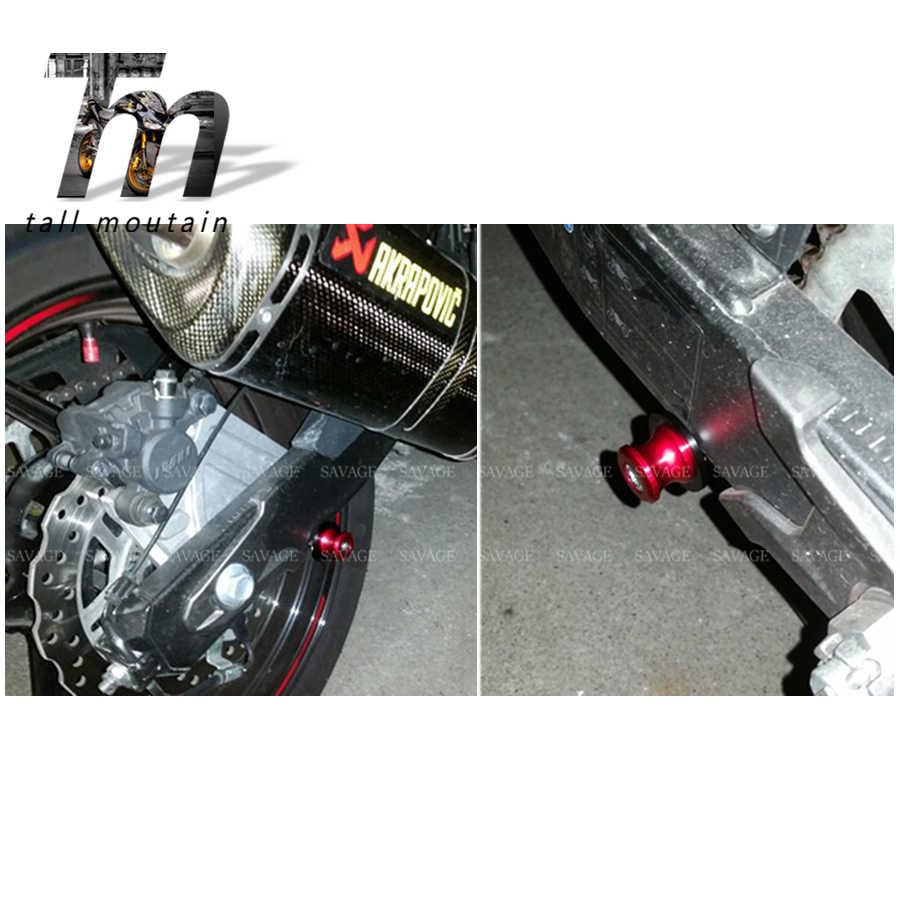 Deslizador del marco de la motocicleta Basculante Carretes deslizante for SUZUKI DL 650//1000 V-Strom GSX1300R HAYABUSA SFV SV 650 DL650 DL1000 GSX 1300R soporte de tornillo de 8 mm Para motocicletas