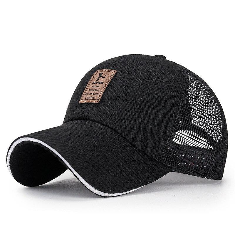2020 Simple Baseball Cap Men's Adjustable Caps Casual Leisure Hats Solid Color Fashion Snapback Bone Women Sun Hat Wholesale