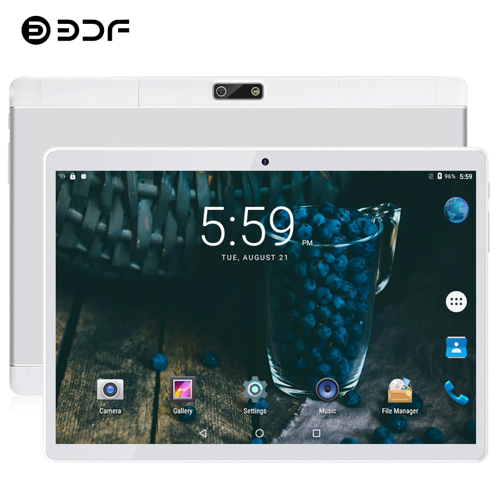BDF 2020 Tablet Pc 10 Inch Android 4.4 Quad Core Google Play 1GB/16GB Tab 3G Phone Call Dual SIM Cards 1280*800 IPS Tablets 10.1