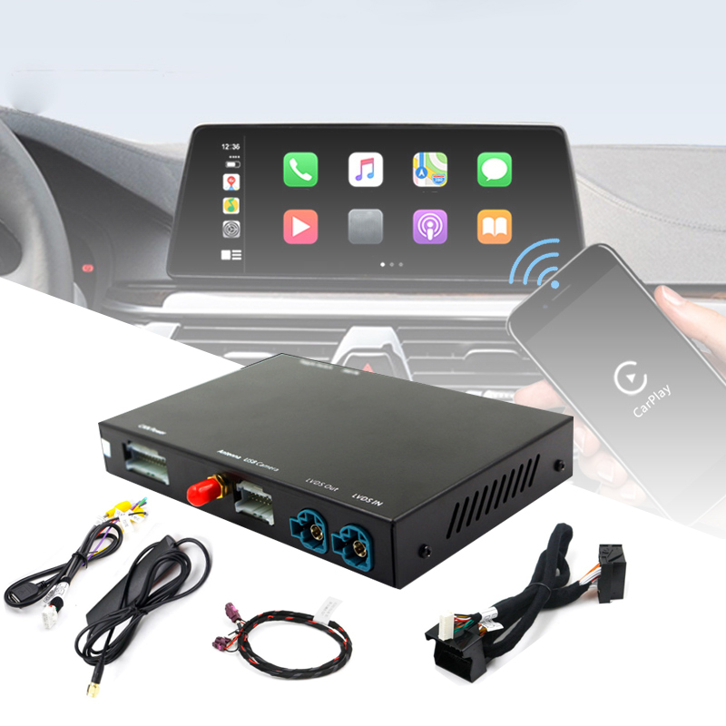 車ワイヤレスcarplay活性化剤androidインターフェイス自動bmw nbt F10 F20 F30 X1 X3 X4 X5 X6 F48 f25 F26 F15 F56 ミニシリーズ