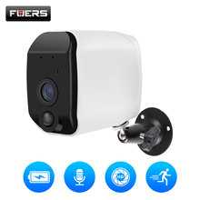 Fuers Outdoor IP Camera 1080p HD Battery WiFi Wireless Surveillance 2MP Home Security PIR Alarm Audio Low Power