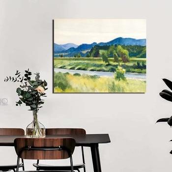 Edward Hopper Wall Art Paintings Printed on Canvas 2