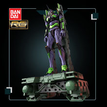 Bandai Anime Action Figures Assemblage Gundam Rg No.1 Machine Eva Evangelion Dx Normale Edition Deluxe Edition Transportband Platform(China)