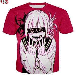Image 3 - Dziewczyna Anime Sexy mój bohater Academia Ahegao Manga drukowane bluzy z kapturem z nadrukiem 3D bluza w stylu Casual Anime dres swetry T31