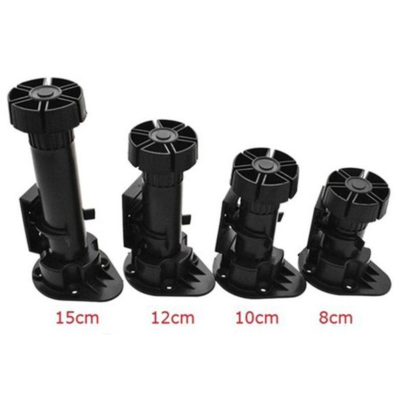 4PCS/set Cabinet Adjustable Foot PP Plinth Cabinet Height Adjustable Foot Leg Leveler For Kitchen Bathroom 8/10/12/15cm Height