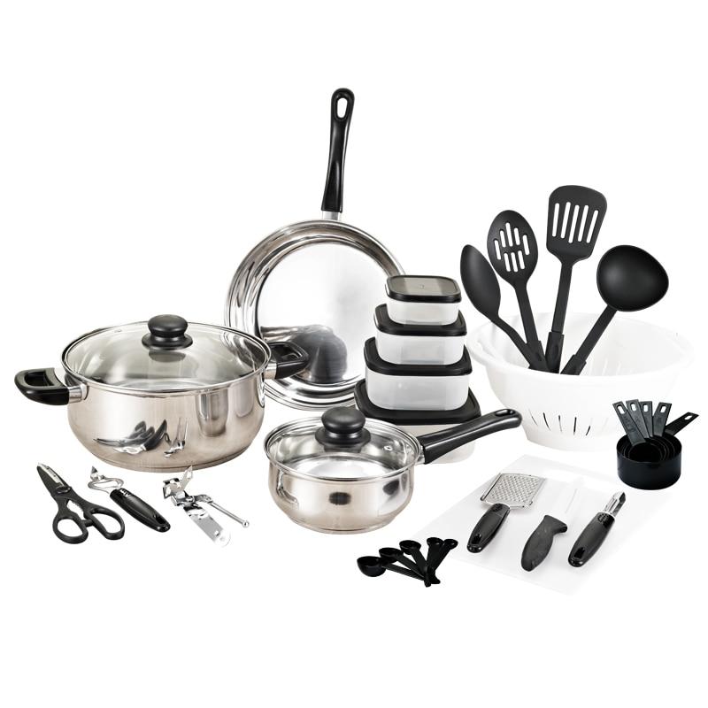 2020 Panelas De Ceramica Arrival Fda Top Fashion Cookware set Cooking Pots And Pans Set 35