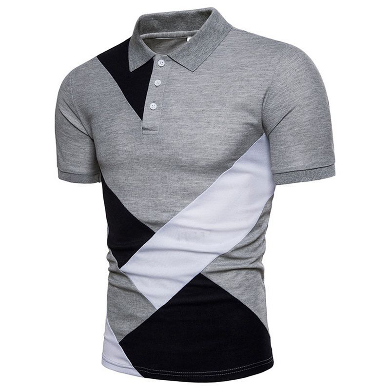 MJARTORIA   Polo   Shirts Men 2019 Summer Fashion Camisa High Quality Short Sleeve Mens Shirt Brands Breathable Brand Tee Tops