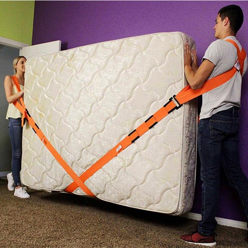 Correia de movimento de móveis força para levantamento da iluminação cinto de pulso mais fácil transportar corda casa conveniente ferramenta de movimento de casa