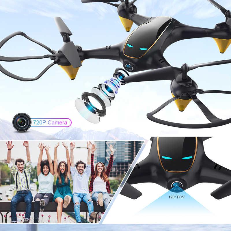 Eachine E38 WiFi FPV Drone RC Drone 4K cámara de flujo óptico 1080P Cámara Dual de HD de Video aérea RC Quadcopter avión giroscopio Juguetes