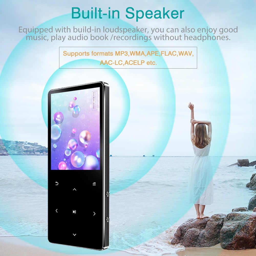 ICEICE MP4 プレーヤー Bluetooth 8 ギガバイト 16 ギガバイト 32 ギガバイト音楽プレーヤーキー fm ラジオビデオ再生電子書籍ハイファイプレーヤー MP4 ウォークマン