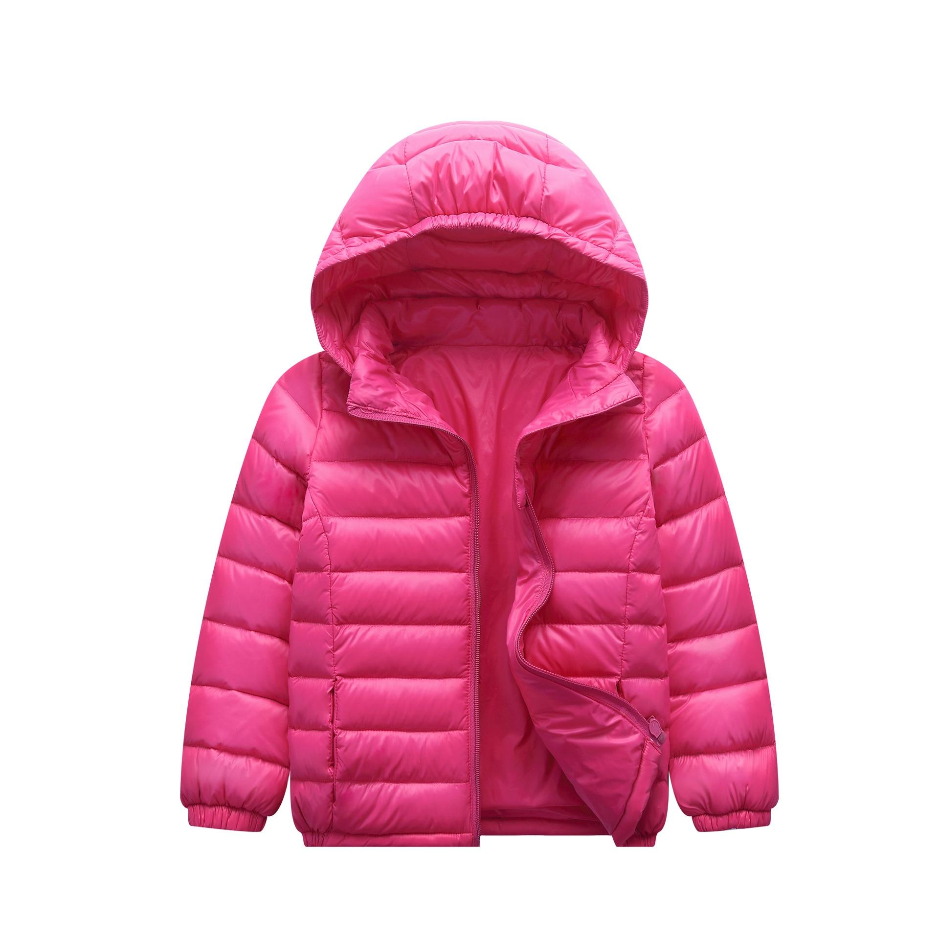 2021New Fashion children jacket Outerwear Boy and Girl autumn Warm Down Hooded Coat teenage parka kids winter jacket