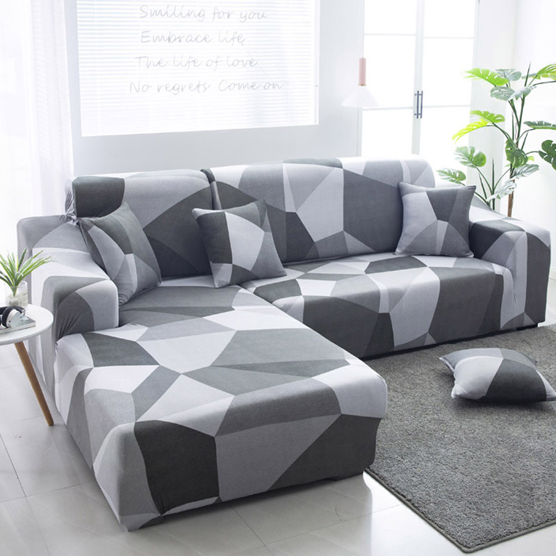 Накидки для углового дивана l образной формы эластичные секционные