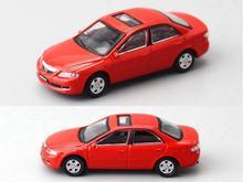 Hot-vente 1:64 alliage Mazda 6 berline voiture modèle nouveau de haute simulation pour enfants jouet cadeau, livraison gratuite