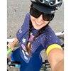 Moda feminina triathlon manga curta camisa de ciclismo define skinsuit maillot ropa ciclismo bicicleta jérsei roupas macacão 16