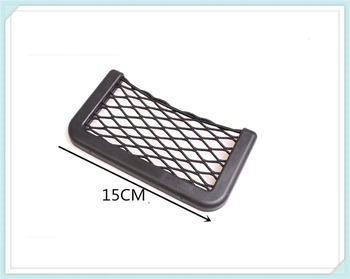 Universal Car Accessories Seat Cell Phone Debris Storage Mesh Bag for BMW series E38 E65 E66 F01 F02 4 F32 F33 F36 F82 M4 image
